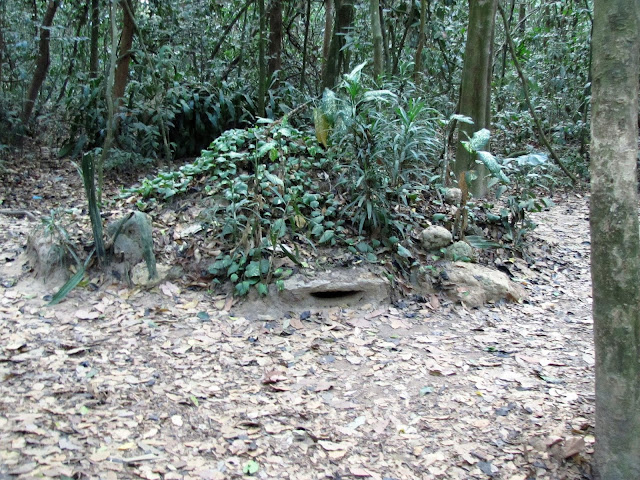 pillbox ben duoc cu chi tunnels vietnam