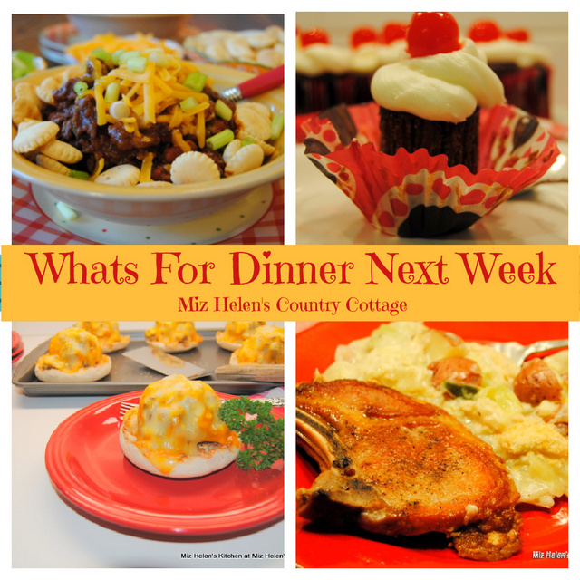 Whats For Dinner Next Week, 1-24-21 at Miz Helen's Country Cottage