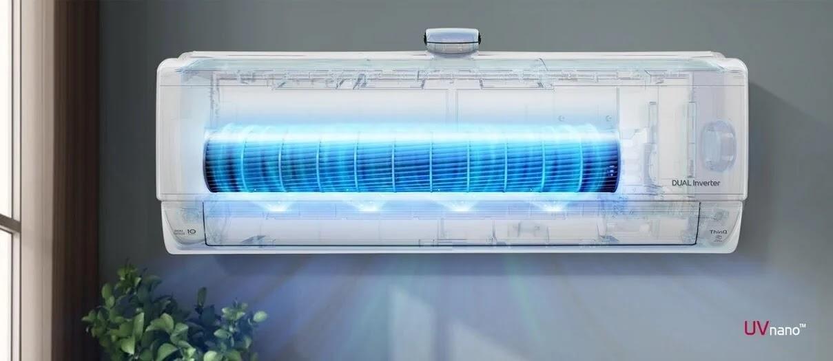 LG's Latest RAC Lineup Benefits from Groundbreaking UVnano Technology