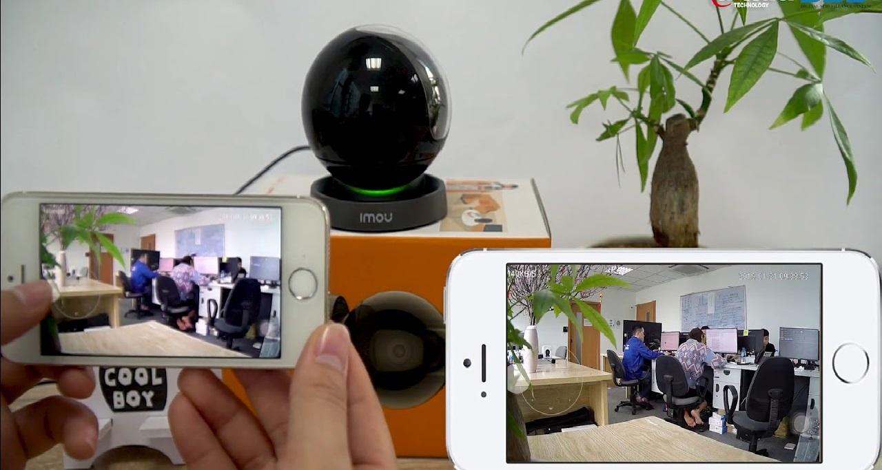 chất lượng hình ảnh thực tế từ camera wifi imou tại bến tre