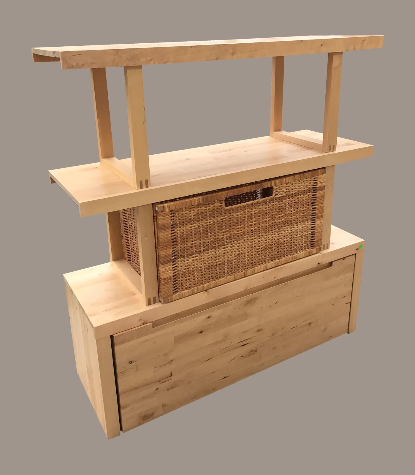 uhuru furniture collectibles shelf unit with bottom. Black Bedroom Furniture Sets. Home Design Ideas