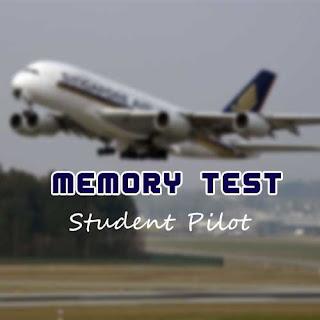 ข้อสอบ Student Pilot พร้อมเฉลย - Memory Test 1