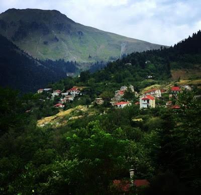 Ропото, заброшенная деревня Греции