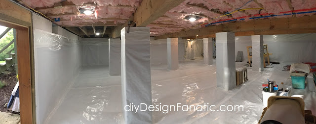 crawl space encapsulation, High Crawl Space, sump pump, diydesignfanatic.com