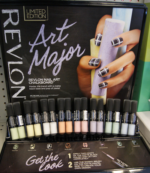 Revlon Nail Art | Chalkboard Nails
