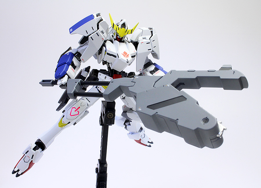 GUNDAM GUY: HG 1/144 Gundam Barbatos Form 6 - Painted Build