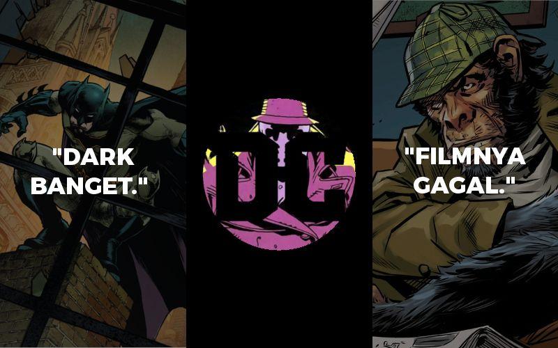 Kenapa Penggemar DC Bisa Santai Kalo Dikatain Penggemar Marvel?