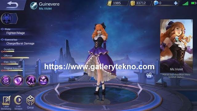 Jadwal Rilis Hero Guinevere di Server Ori