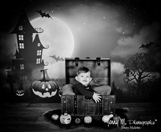 séance photo halloween, photos noel vendée 85 la roche sur yon