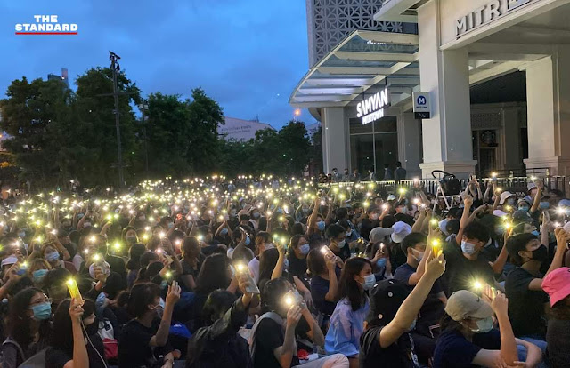 Tertibnya Demontrasi Warga di Thailand, Beradab dan Teratur