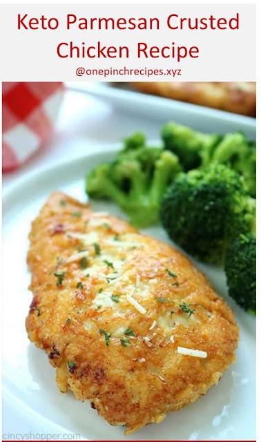 Keto Pаrmеѕаn Cruѕtеd Chicken Recipe