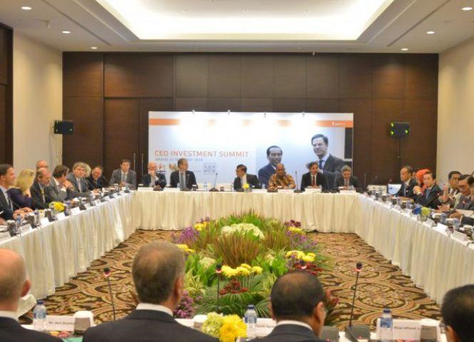 CEO Investment Summit Tingkatkan Kerja Sama RI-Belanda