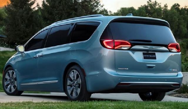 2018 Chrysler Pacifica Exterior