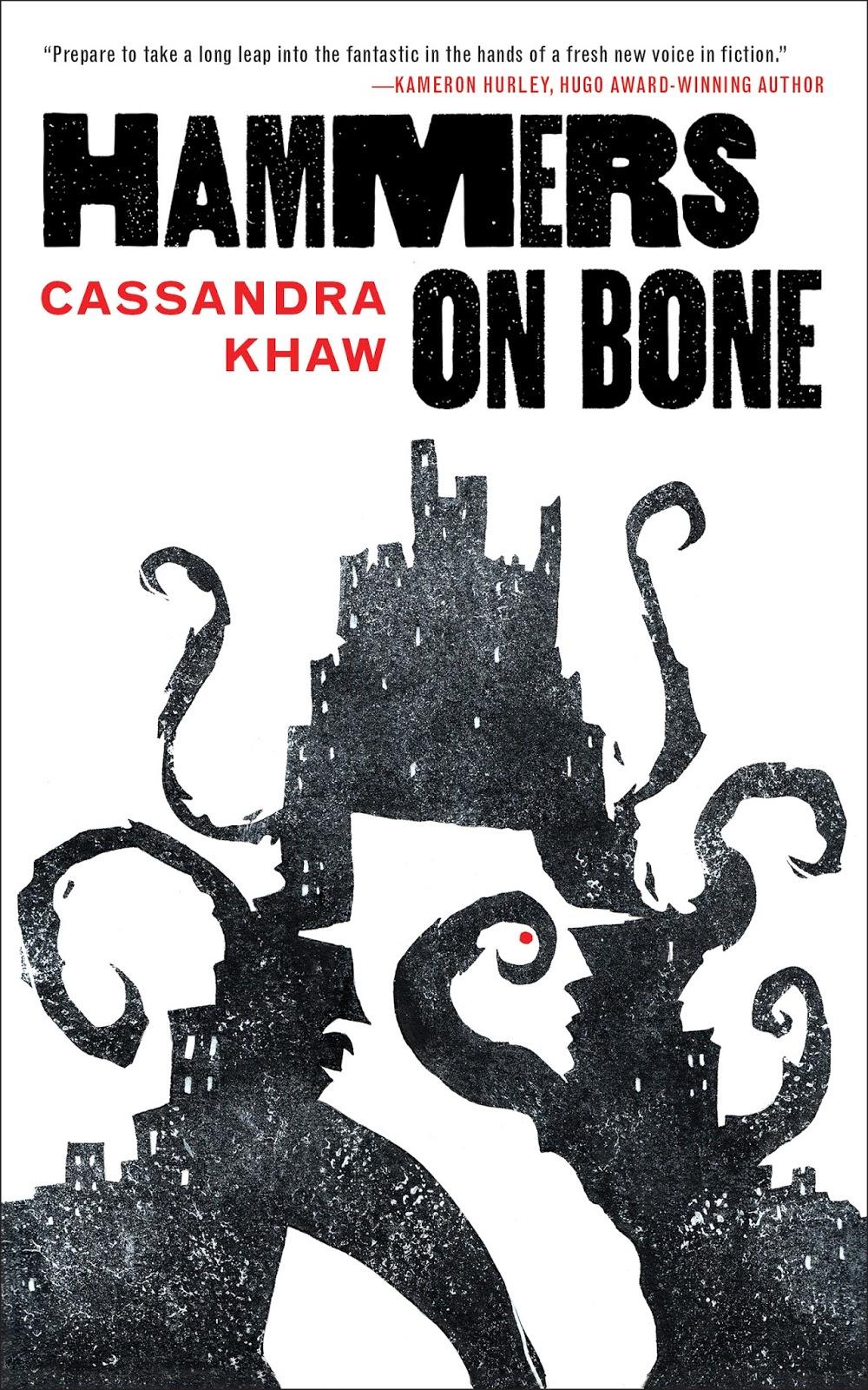 Cassandra Khaw: Five Things I Learned Writing Hammers On Bone