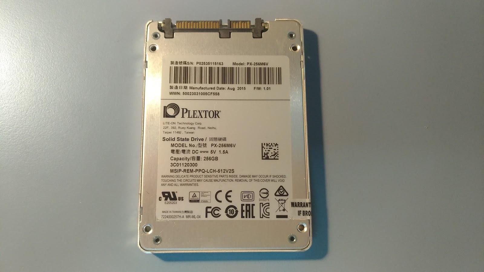 P 20170322 192323 vHDR On - Plextor M6V 256G SSD 開箱評測 & Asus K55VD 拆機升級雙硬碟教學