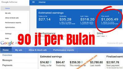 Cara Menghasilkan Uang dari ADMOB dan Google Adsense