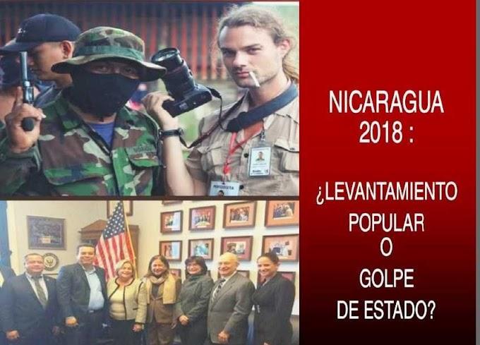 Nicaragua 2018: ¿Levantamiento Popular o Golpe de Estado? (Libro)