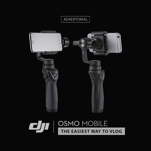 dji osmo mobile - cara mudah bikin vlog