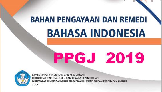 DOWNLOAD MATERI PENGAYAAN REMEDIAL PPG MATA PELAJARAN BAHASA INDONESIA