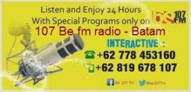 Radio BE 107.0 FM Batam