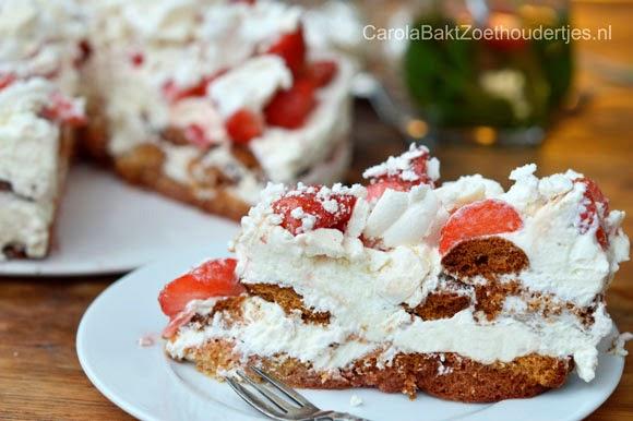 Aardbeien tiramisu Rutger bakt feestelijk