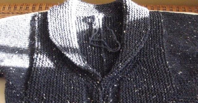 Chez Lizzie: Shawl Collar Tutorial