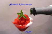 Granizado de frutas con cava