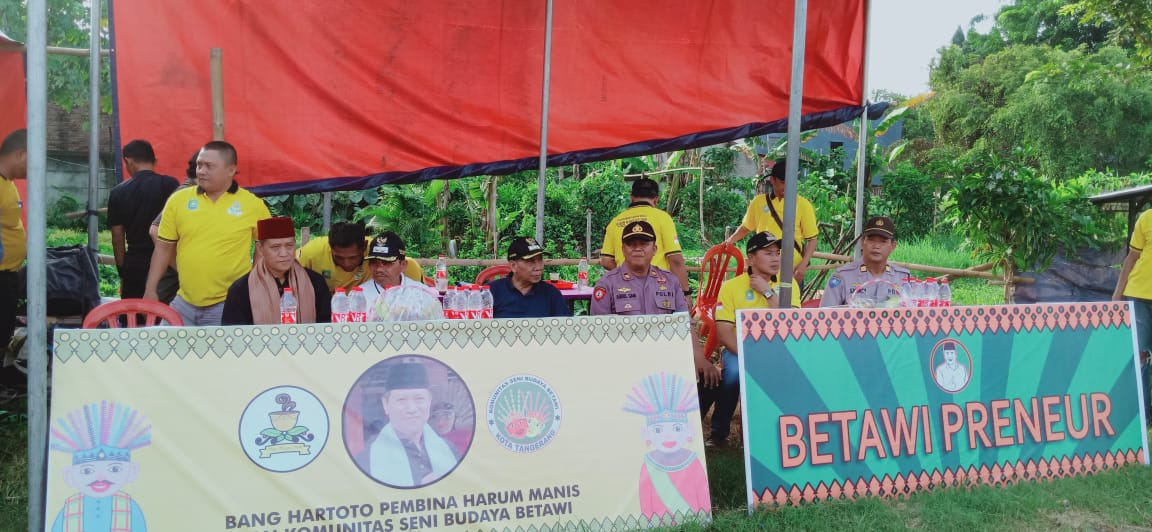Wakil Walikota Tanggerang Apresiasi Harum Manis Cup 2020