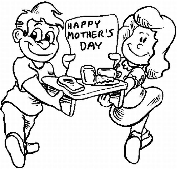 Movie Adaptations: Happy Mother Day from Kid\'s Coloring Pages
