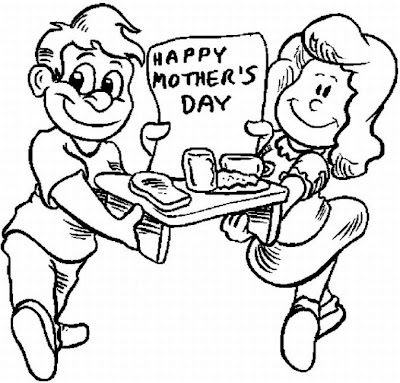 Happy mother day from kid 39 s coloring pages disney for Happy mothers day coloring page