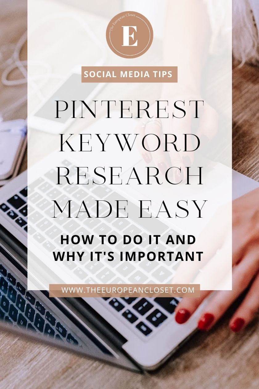 Pinterest keyword research is much easier than you might think. Pinterest is a great place for you to do your keyword research In this little guide I've put together, I'll show you how you can use Pinterest for keyword researching in order to get more people to visit your blog and increase your blog's pageviews.  #pinteresttips #bloggingtips #keywordresearch