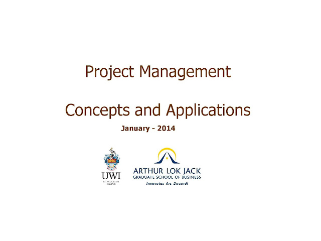 Project Management Concepts and Applications