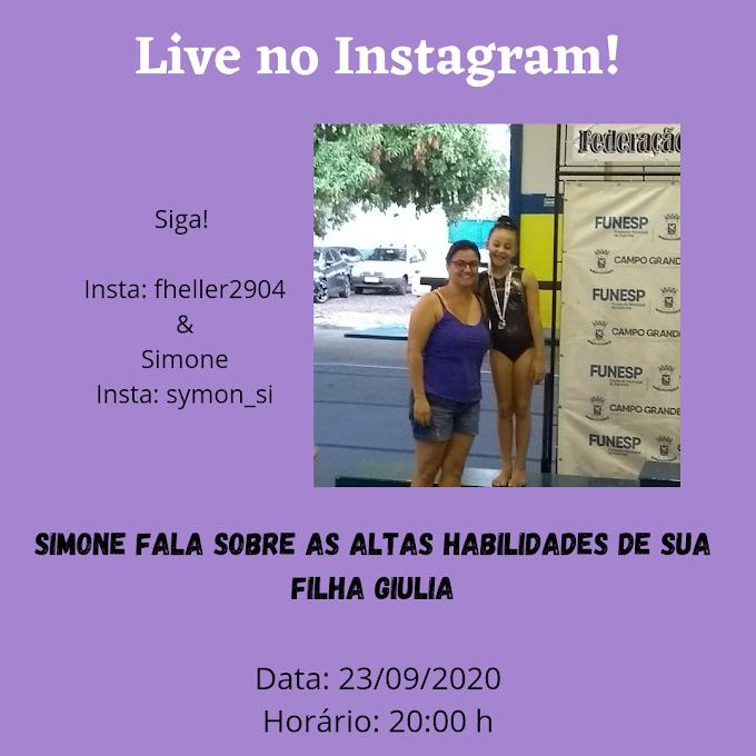 Live com Simone!
