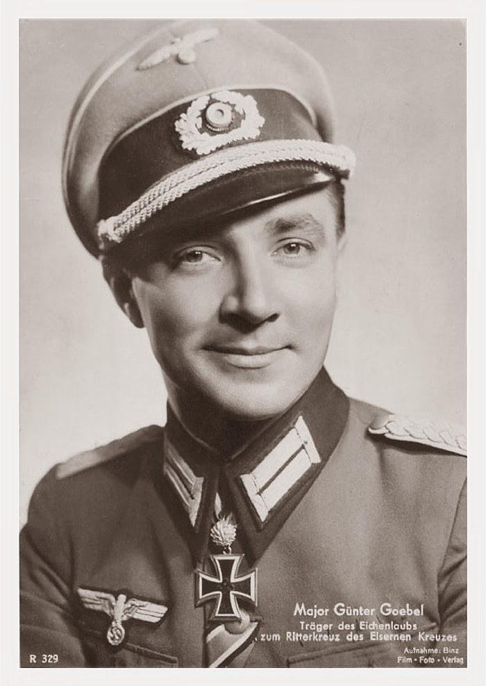 Günter Goebel Ritterkreuzträger Knight Cross Holder Postcard