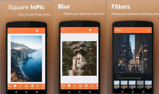 تنزيل تطبيق Square InPic لتحرير والكتابة على الصور بكل سهولة