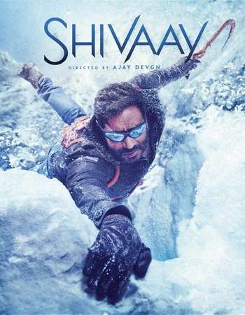 Poster Of Shivaay 2016 Hindi 700MB HDRip 720p ESubs HEVC Watch Online Free Download downloadhub.in