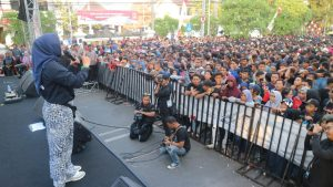 Hari Jadi Kota Cirebon ke 650 Diramaikan Dengan Nonton Bareng Moto GP