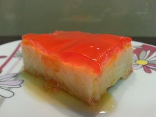 Kaszak pomarańczowo - truskawkowy, bez pieczenia.