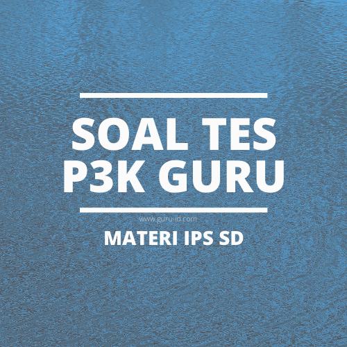 gambar soal pppk guru IPS SD