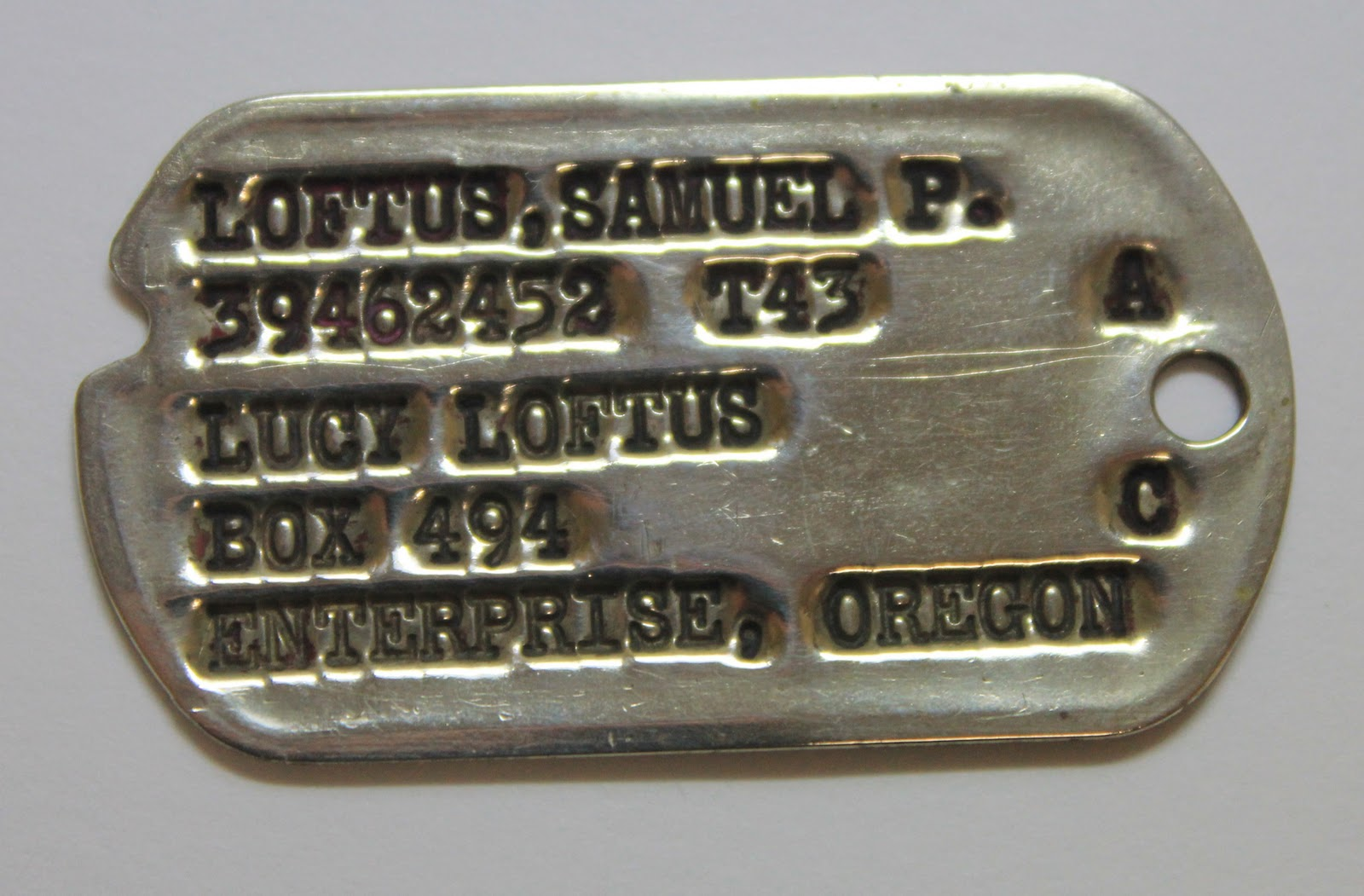 Back Home The World War 2 American Dog Tag Mystery Solved