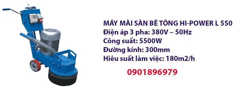 MÁY MÀI SÀN BÊ TÔNG HI-POWER L 550