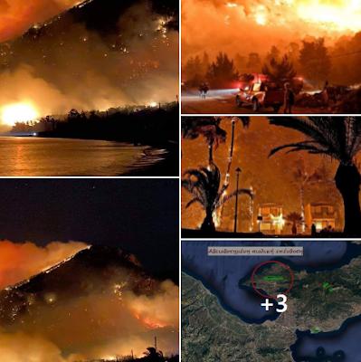 Οι καπνοί που έχουν κυκλώσει την Αθήνα είναι καπνοί πολέμου καθαρμάτων στη μάνα φύση ...