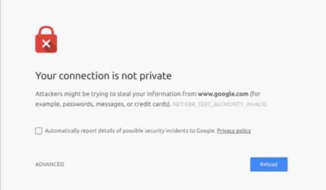 """Cara Mengatasi Koneksi  Anda tidak pribadi  - Ketika Anda sedang mengakses sebuah situs mungkin pernah atau sering mengalami masalah """"Koneksi Anda tidak pribadi""""  atau jika browser anda memakai bahasa Inggris """"Your Connection Not Private"""". Pesan ini sering muncul dilayar browser  seperti chrome, mozila, opera dan lain-lain baik di PC atau di Smartphone karena kesalahan SSL (Secure Socket Layer) yang menyebabkan koneksi Anda tidak aman.              Jika browser sedang mendapati sertifikat tidak valid, itu berarti ia secara otomatis mencoba mencegah kamu mencapai situs tersebut. Jika sertifikat tidak disiapkan dengan tepat, maka data tidak dapat dienkripsi dengan benar, oleh karenanya situs tersebut tidak aman untuk dikunjungi.    Di Browser, fitur ini berguna untuk melindungi para penggunanya terutama yang memiliki akses login dan memproses informasi pembayaran. Jadi, tidak heran banyak pengguna yang menemukan kesalahan """"Penyerang mungkin mencoba mencuri informasi Anda dari domain.com (misalnya, kata sandi, pesan, atau kartu kredit)"""".    Ini adalah kesalahan umum yang sering terlihat ketika kita sedang berselancar di browser  dan tentu saja ini berkaitan dengan situs yang menjalankan protokol HTTPS atau SSL. Sehingga, Ketika kamu sedang mengunjungi sebuah situs, maka browser akan mengirimkan permintaan ke server tempat situs tersebut dihosting, kemudian browser akan memvalidasi sertifikat yang dipasang pada situs tersebut untuk memastikan standar privasi saat ini.    Selain tidak dipasangnya sertifikat SSL, di bawah ini merupakan beberapa penyebab munculnya error tersebut.      Sertifikat SSL sudah kedaluwarsa. Anda sudah memasang sertifikat SSL tetapi situs menunjukkan your connection is not private, maka itu berarti Anda harus memeriksa masa berlakunya. Sertifikat SSL tidak berlaku seumur hidup. Biasanya sertifikat ini memiliki masa aktif setahun. Lebih dari setahun, Anda harus memperpanjang atau memperbarui sertifikat tersebut. Sertifikat SSL hanya dipasang di do"""