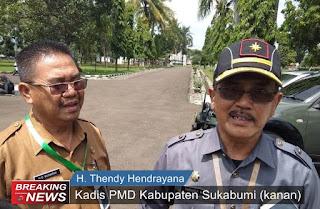 Kadis PMD Kabupaten Sukabumi H. Thendy Hendrayana