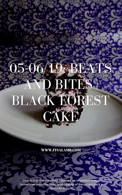 For the sweet tooth, Black Forest Cake. Read on www.itsalamb.com.