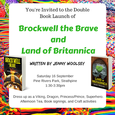 Blog 99 - Your Invitation to my Double Book Launch!