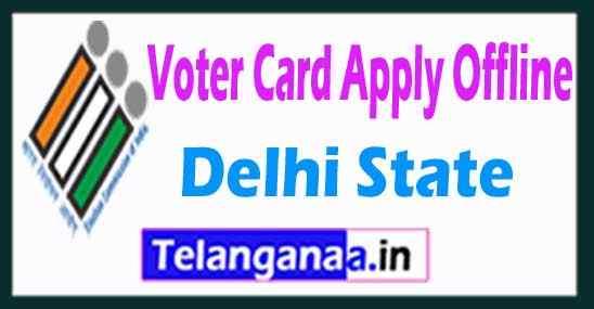 How to Apply Voter ID Card Offline in Delhi