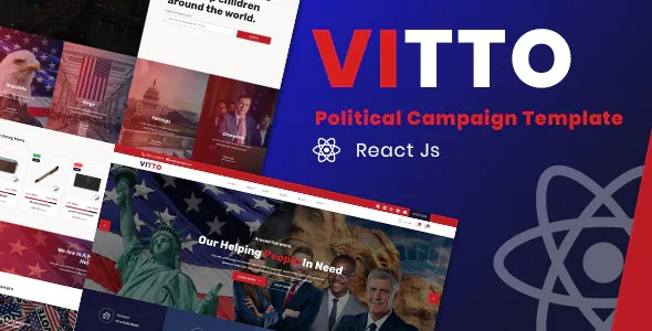 Best Political Campaign React Template
