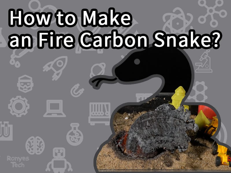 How to Make an Fire Carbon Snake?
