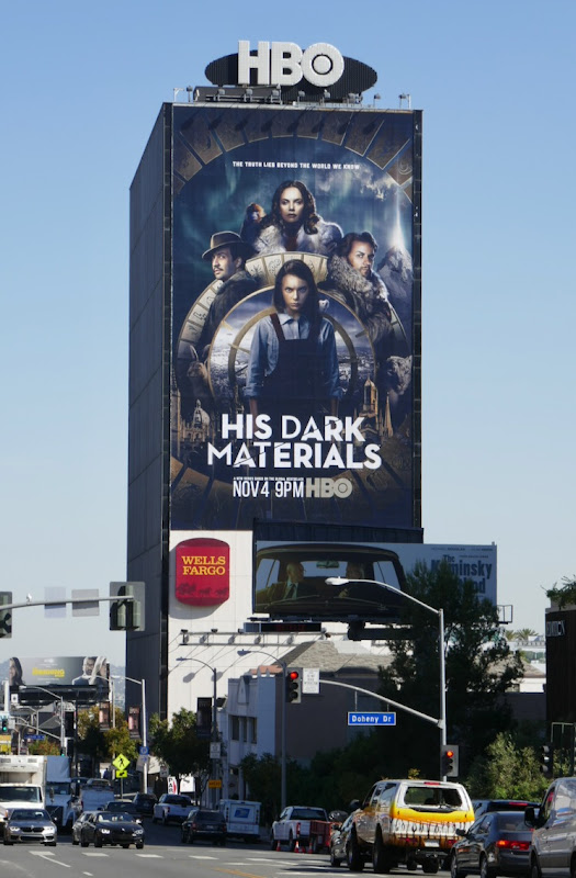 His Dark Materials TV remake billboard